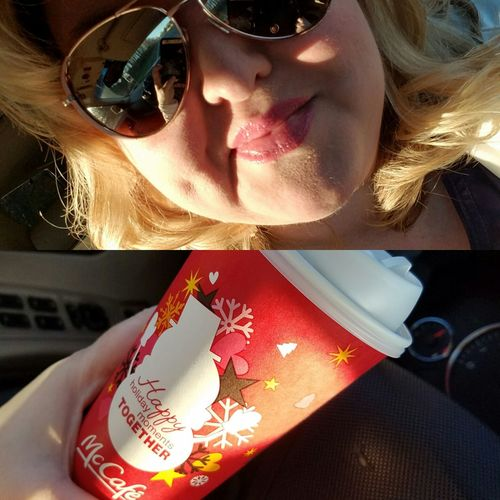 Morning Light Morning Coffee Dimples  Blonde Girl Blondebeauty Hello Darling Sunglasses Sunglass Selfie Fall Colors Enjoying Life Blondie People Coffee Addict Coffee Time Coffeeholic Coffee Culture Coffe Time