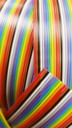 Full frame shot of colorful objects