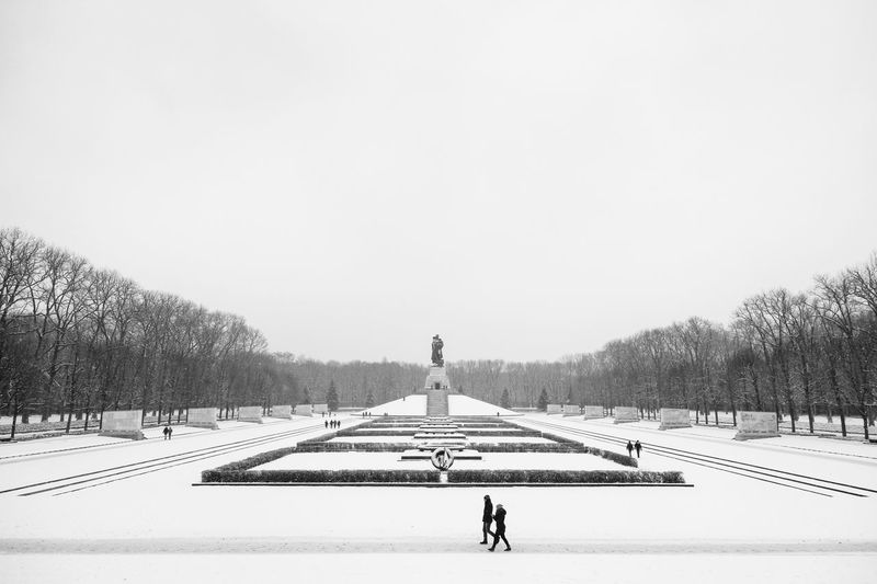 point of grey Architecture Berlin Berliner Ansichten Blackandwhite Europe Germany Going For A Walk Graves Landscape_Collection Landscape_photography Memorial Memories People Watching Snow ❄ Sowjet Architecture Sowjetisches Ehrenmal Symmetry Wanderlust Winter Wonderland Wintertime