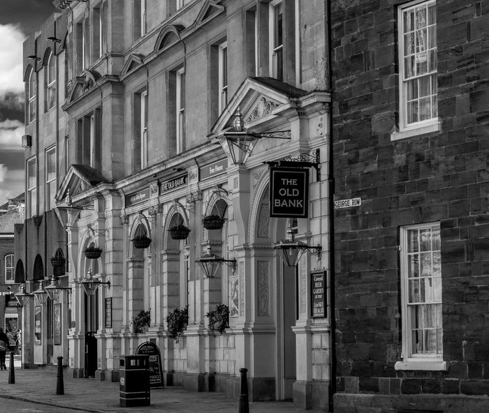The Old Bank (formerly The Rat and Parrot, formerly Barclay's Bank), Northampton Northampton Northampton Pubs Pubs Blackandwhite