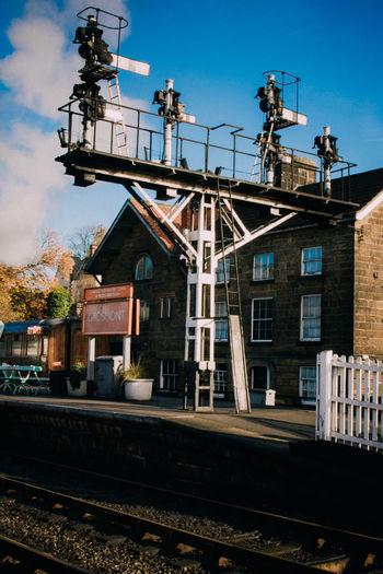 Architecture Building Building Exterior Built Structure Steam Train Yorkshire Yorkshire Dales Yorkshire Rail