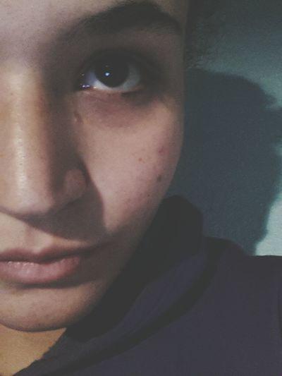 Me Selfie Nice Brown Eyes