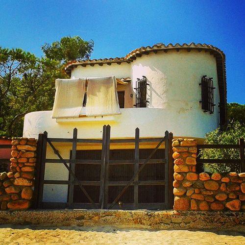 Villa Sardegna Nora Cartolina ottobre