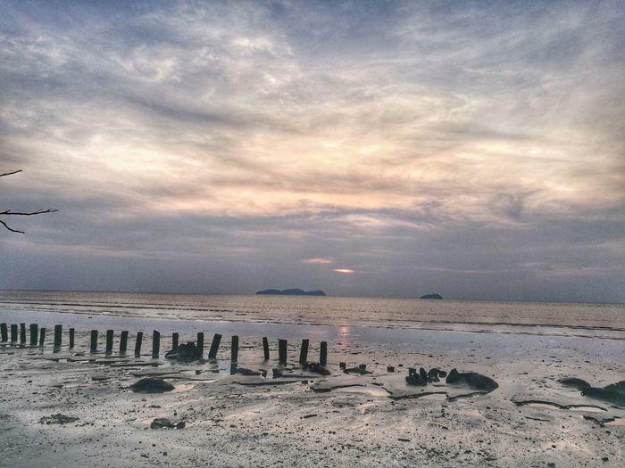 City Water Sunset Beach Flamingo Sand Sky Landscape Cloud - Sky Calm Seascape Ocean Wave Coast Coastline Sand Dune EyeEmNewHere A New Beginning