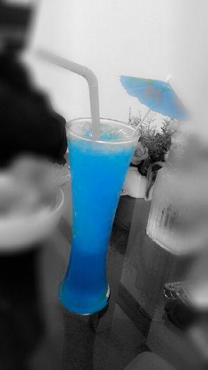 Bule Hawaii Yummy Drink Drink Time