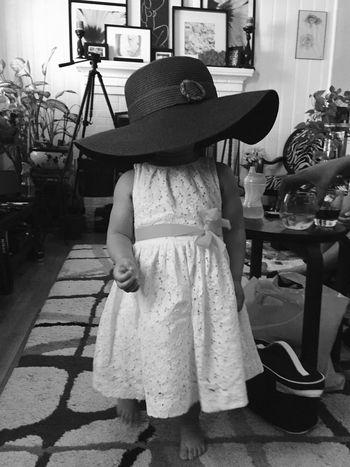 Lil Princess-Big Hat Enjoying Life Taking Photos Tanykapix First Eyeem Photo