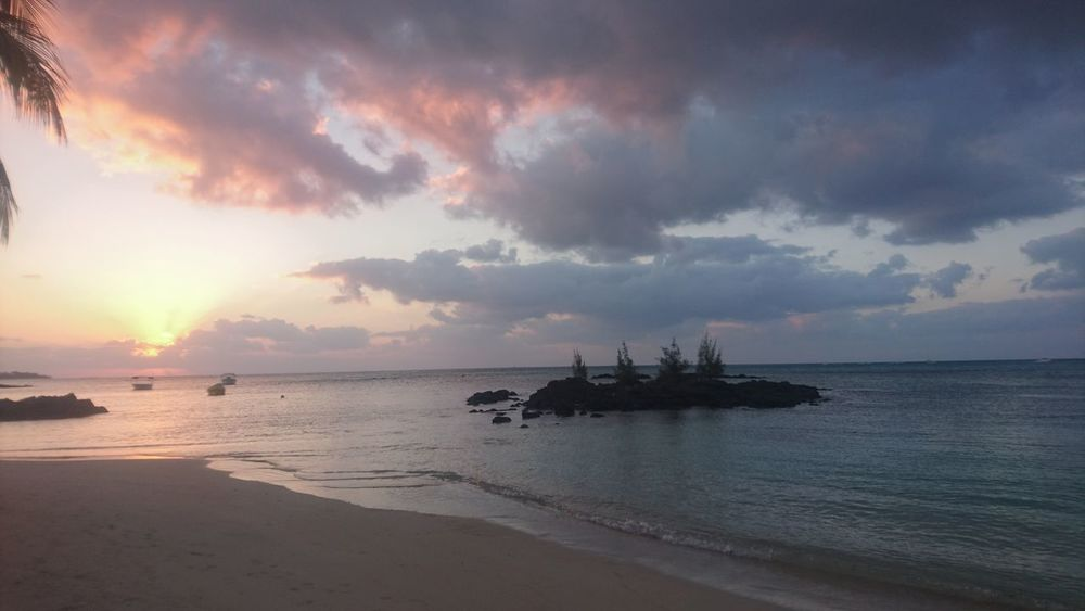 Sea Water Sky Cloud - Sky Nautical Vessel Scenics - Nature Tranquility Horizon Over Water Horizon Tranquil Scene Beauty In Nature Sunset Nature Mode Of Transportation No People Ship Beach Transportation Land Outdoors