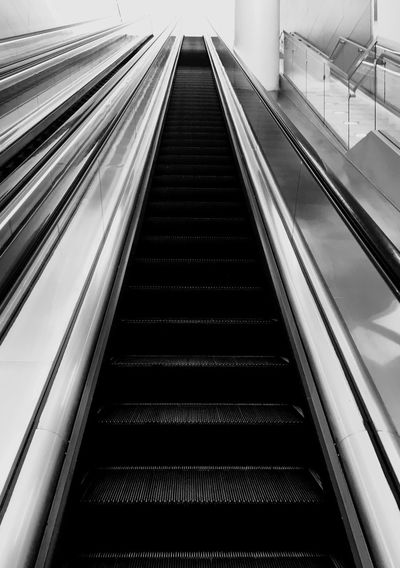 Transportation Convenience The Way Forward Escalator Direction Architecture Indoors  Staircase Modern Connection