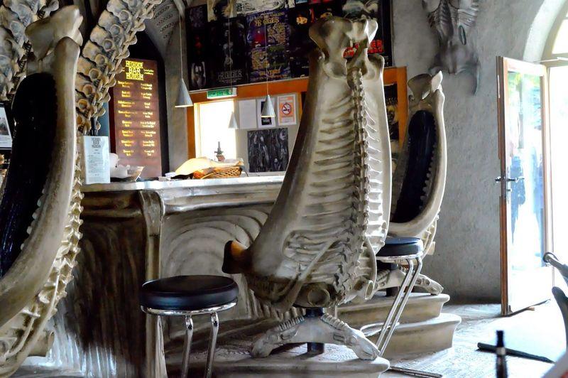 Furniture Bar Museum Alien