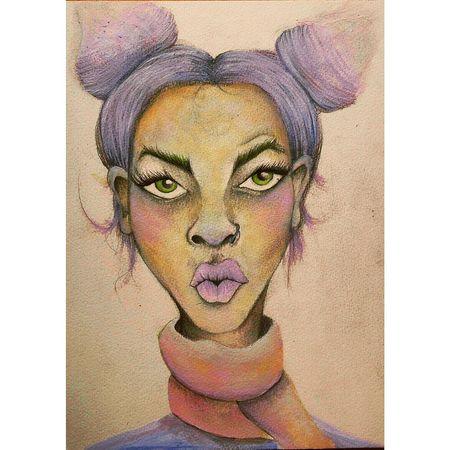 Watercolors  Art Inprogress Graphic Design