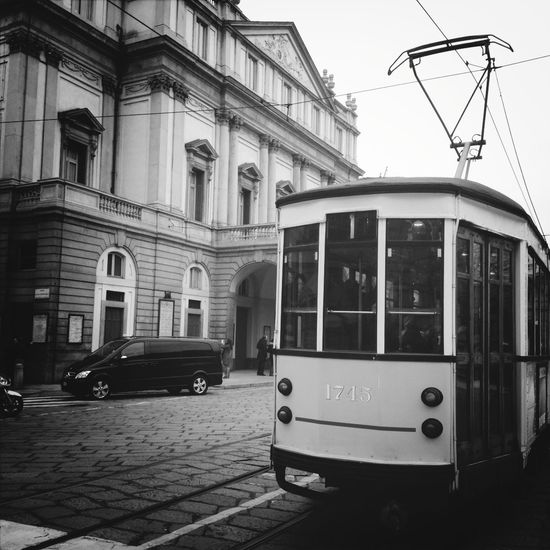 Streetphotography Blackandwhite Black And White Tram