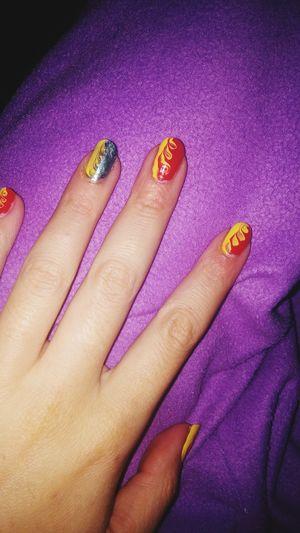 Mani Nail Art Nail Art ❤ Smaltocolorato Smalto