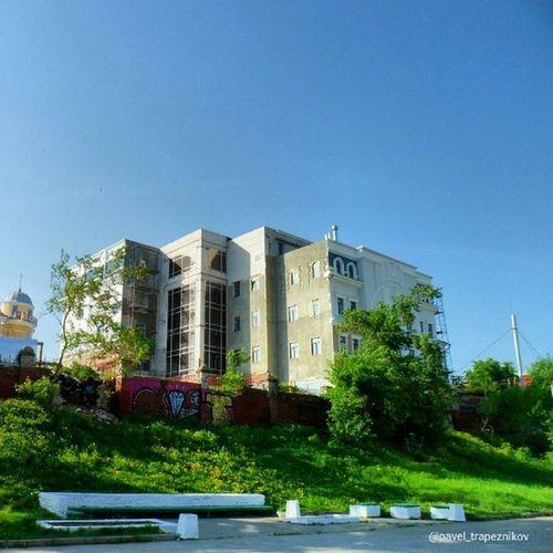20140518 , Рязань . Строящееся административное здание / Ryazan . Office building under construction.