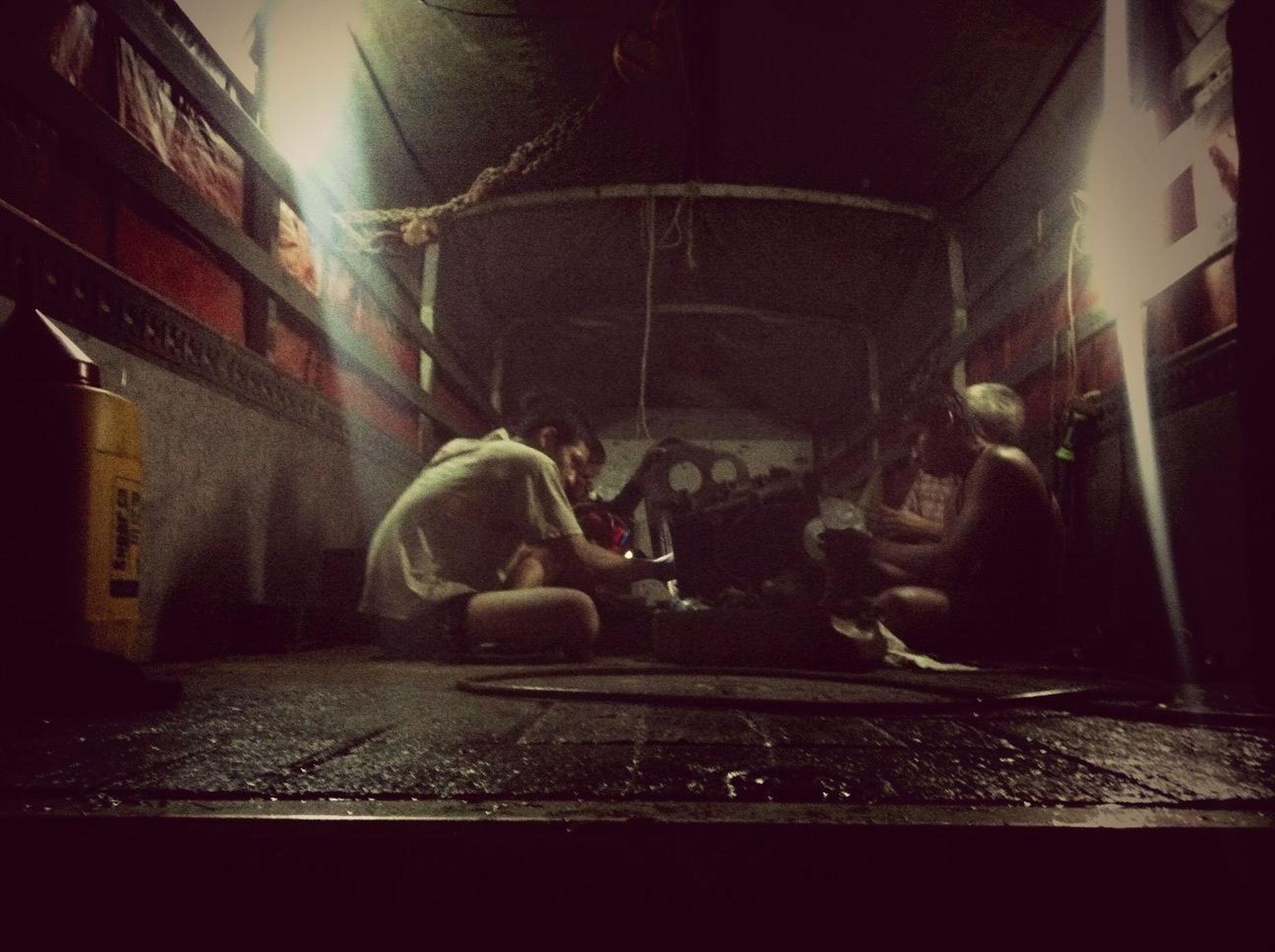 illuminated, night, indoors, architecture, built structure, building exterior, light - natural phenomenon, lighting equipment, wall - building feature, window, street, transportation, building, art, no people, art and craft, graffiti, land vehicle, dark, motion