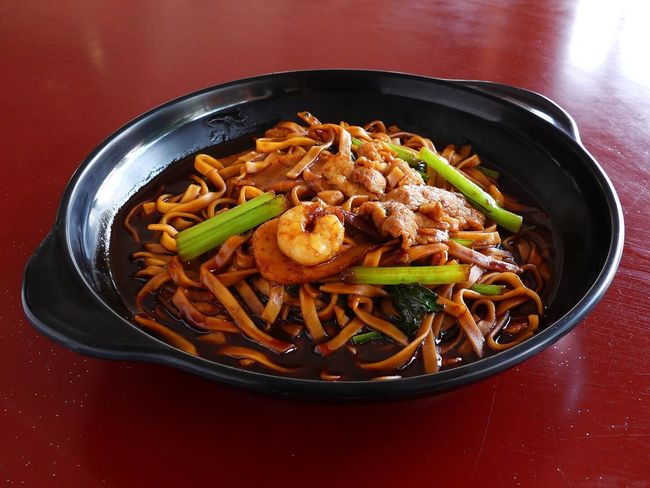 Close Up Close-up Food Food And Drink Hawkerfood Indoors  Indulgence Noodles Prawn Preparation  Seafoods Table