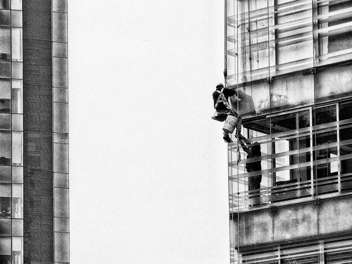 Building exterior - window washer