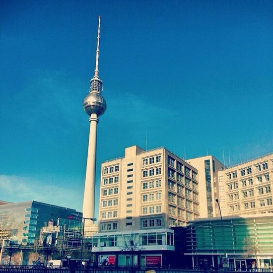 Good morning Berlin ! Awesomeweathertoday Cantgetenoughofit