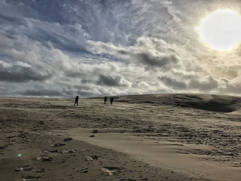 Cloud - Sky Sand Råbjerg Mile Outdoors Dunescape Denmark Beauty In Nature Sky Dramatic Sky Skagen Sand Dune Shapes Of Nature
