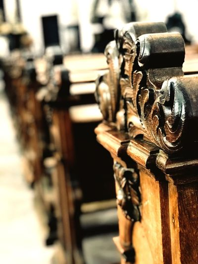 Focus On Foreground Close-up No People Metal Technology Day Selective Focus Wood - Material Sunlight Outdoors Antique Pattern Old Built Structure Architecture