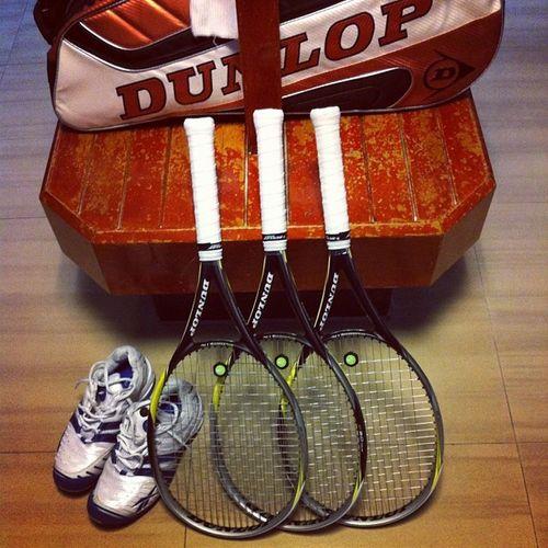Say hello to my new ladies... Delores, Delilah & Deanna Tennis Dunlopsports Dunloptennis Kualalumpur malaysia tennisrackets chinesenewyear happychinesenewyear cny2014 cnyinsta