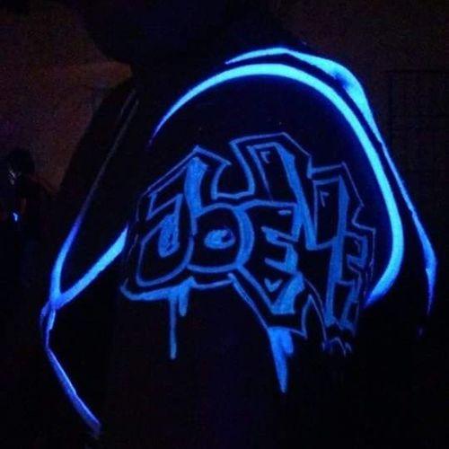 Blacklight.. @joellepinas