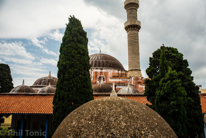 Urban Discoveries Architecture Built Structure Cloud - Sky Day Dome Greece Im Isand Nature No People Outdoors Place Of Worship Religion Rhodes Sky Summer Sunset Tree Warm