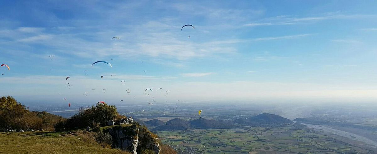 Paragliding Skylovers Italy Meduno Mountain Nature Outdoor Sport Valley View Meduna