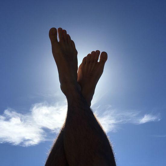 Holidays... Human Body Part Sky Cloud - Sky Capturing Freedom Capture The Moment Enjoying Life Life Is A Beach Blue