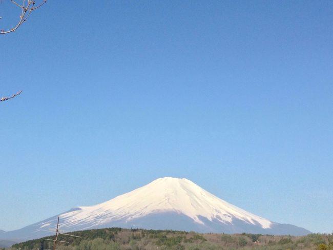 山梨 山中湖 富士山
