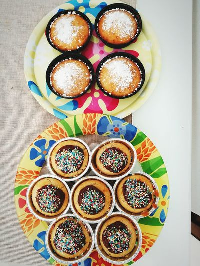By myself with love Food Sweet Food Foodporn Table Cupcakes Love