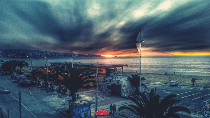 Un nuevo día Cochitul Valpogram Valparaíso Instachile Instavalpo Melancholic Landscapes Landscape Hello World