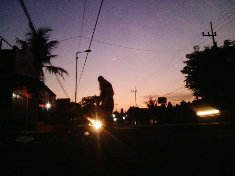Kepagian Menyapu Sunrise Humaninterestphotography
