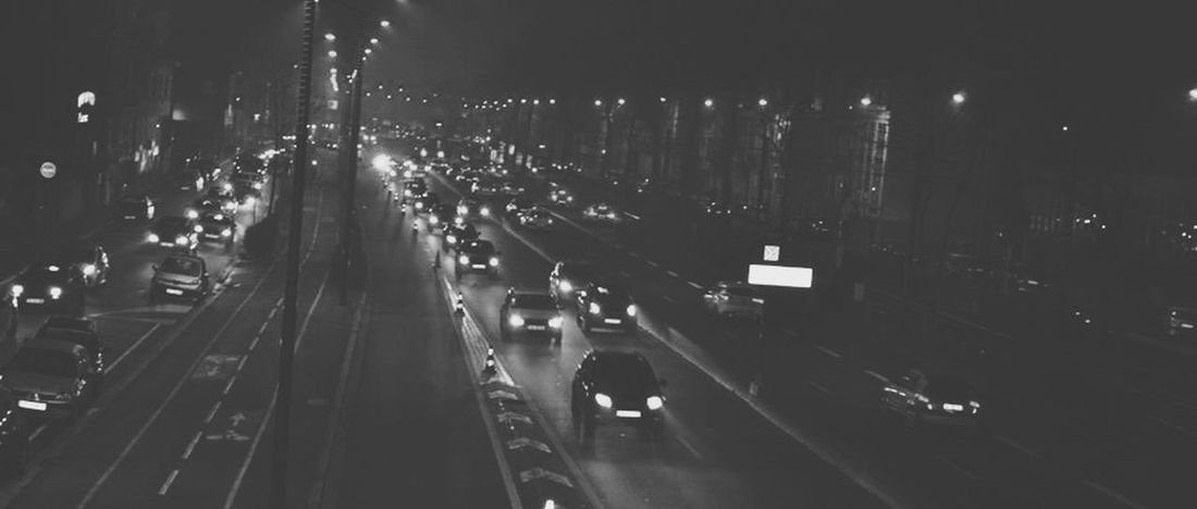 Paysage Nuit Taking Photos Black & White