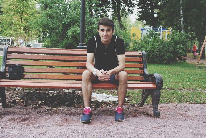 ПаркГорького парк Folllowme Followme Likeforlike Like Traveling Travel скамейка Россия