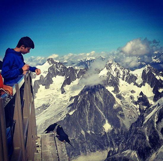 au Mont-Blanc