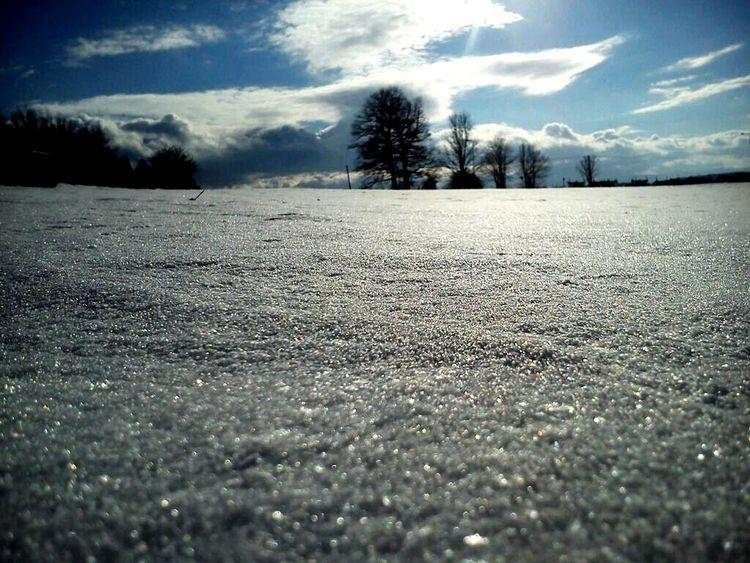 Piekna Zima Winter Wintertime Sky Sun EyeEm Nature Lover