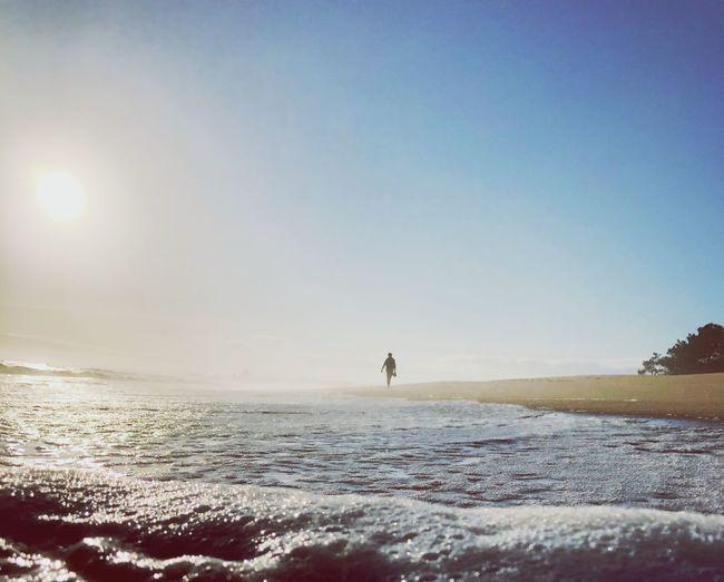 Low Angle Beach