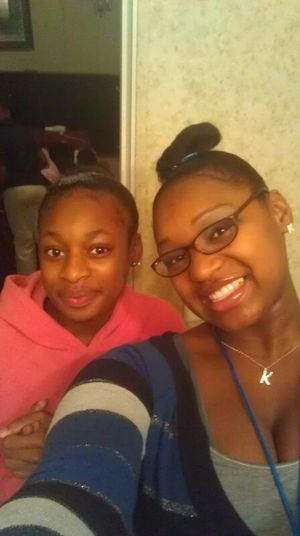 @ Me And One Of Mi Sis