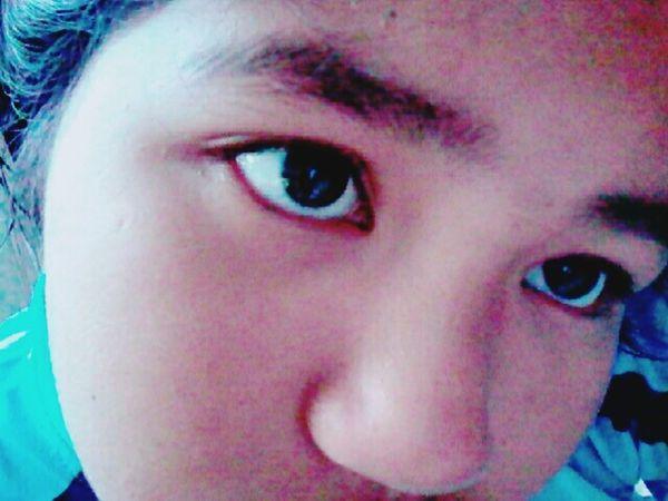 This is my eye. 👌👀 ❤ Enjoying Life Hi! Happy Time First Eyeem Photo HelloEyeEm Myeye Nomakeup