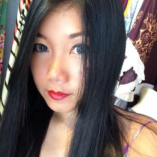 Black Hair Long Hair Portrait Self Portrait Selfie
