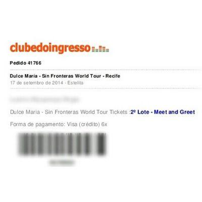 Me muero con eso!!!! Dulcemaria Sinfronterasworldtour Recife MeetAndGreet felizdemais