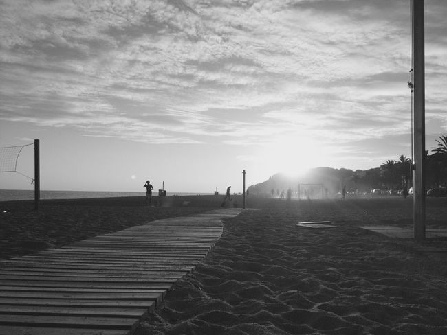 Play. Calella Beach Shadows IPhoneography Dust Youth People