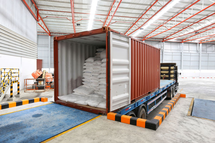 Absence Architecture Bed Building Built Structure Business Container Distribution Warehouse Domestic Room Freight Transportation Furniture Indoors  Industry Mode Of Transportation No People Shipping  Storage Compartment Transportation Truck Warehouse