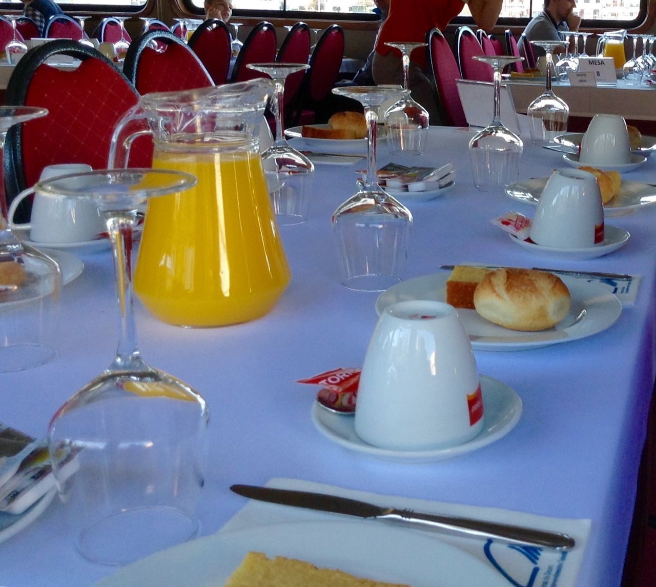 table, food and drink, food, restaurant, drink, drinking glass, indoors, plate, cafe, no people, ready-to-eat, freshness, day, close-up