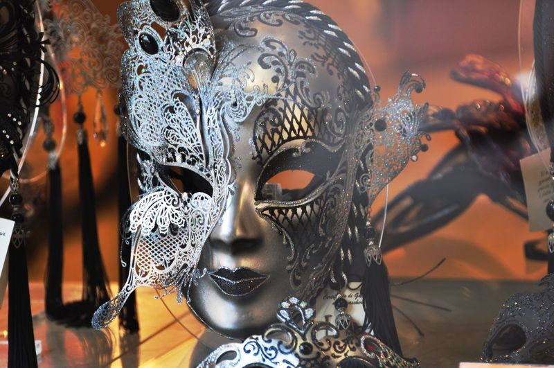 Close-Up Of Masks For Sale In Store