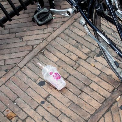 Waste Communication Day Environment Milkshake No People Oorban Outdoors Trash Urban Waste Waste On The Street