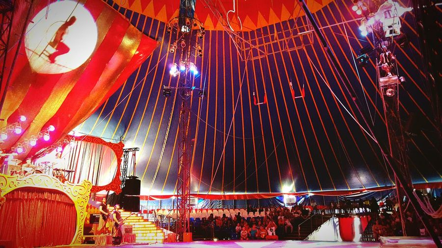 Light And Shadow Places Circus Open Edit