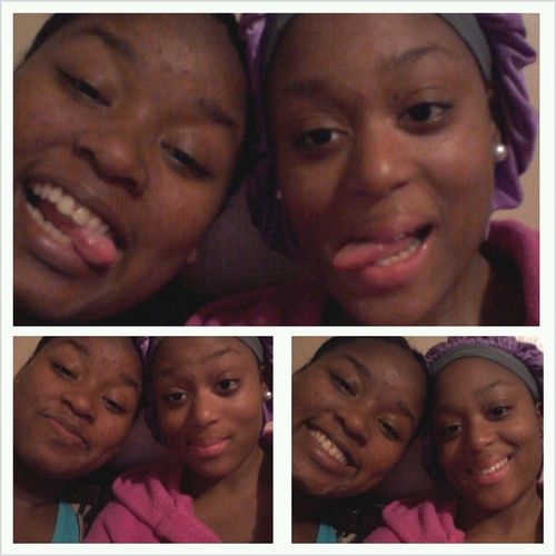 #me & My Lovely Cousin On A Nite!