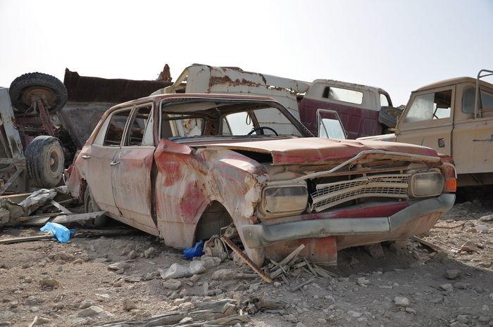 Cars Junk Junkyard Land Vehicles Old Old Ruin Oldcars Rusty First Eyeem Photo