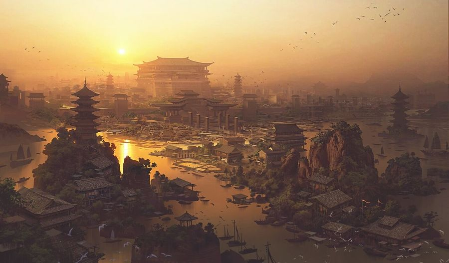 The ancient China city. Popular Great Shoot Open Edit Art Architecture